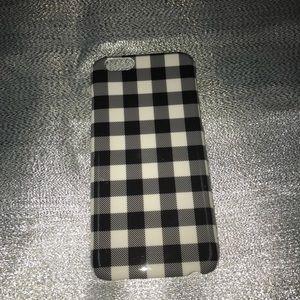iPhone 6 gingham case